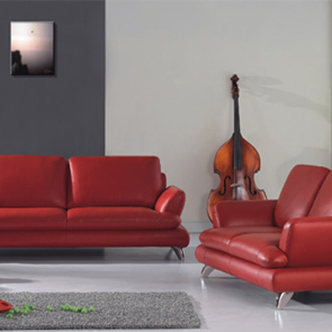 Magento Red Furniture Set